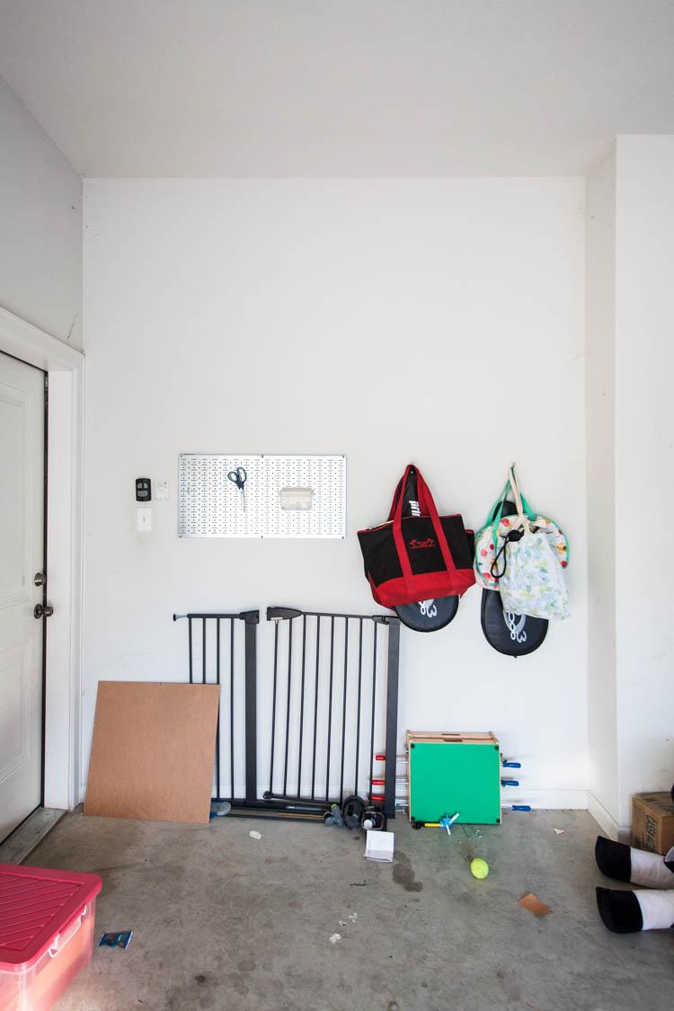 Garage Organization 101 - One Little Minute Blog-2