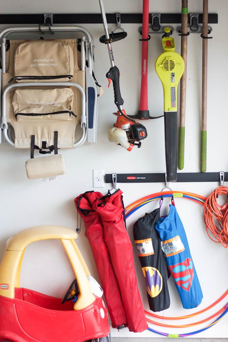 Garage Organization 101 - One Little Minute Blog-4