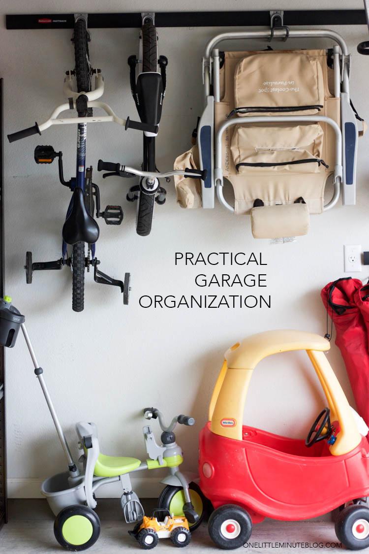 Garage Organization 101 - One Little Minute Blog-5