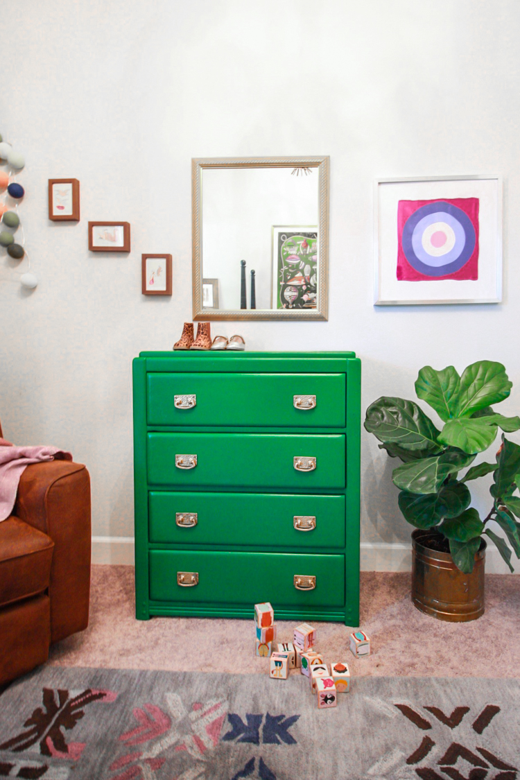 Hunter Green Dresser Redo-5