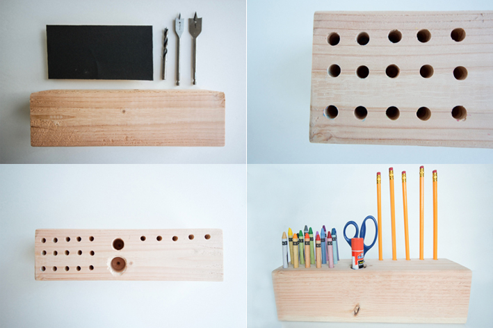 Modern Kid's Desk Organizer