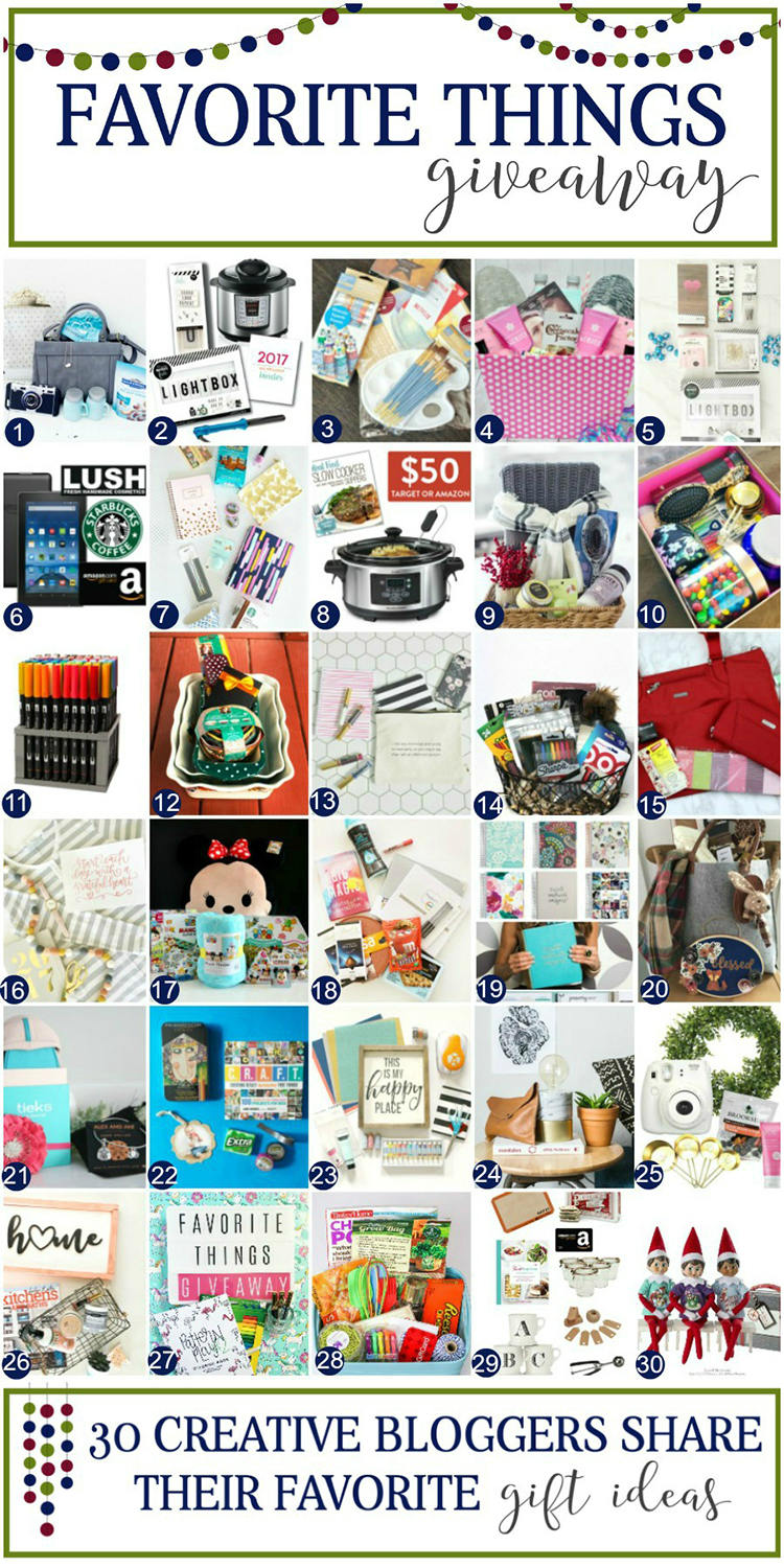 favorite-things-giveaway-collage-gift-giving-guide