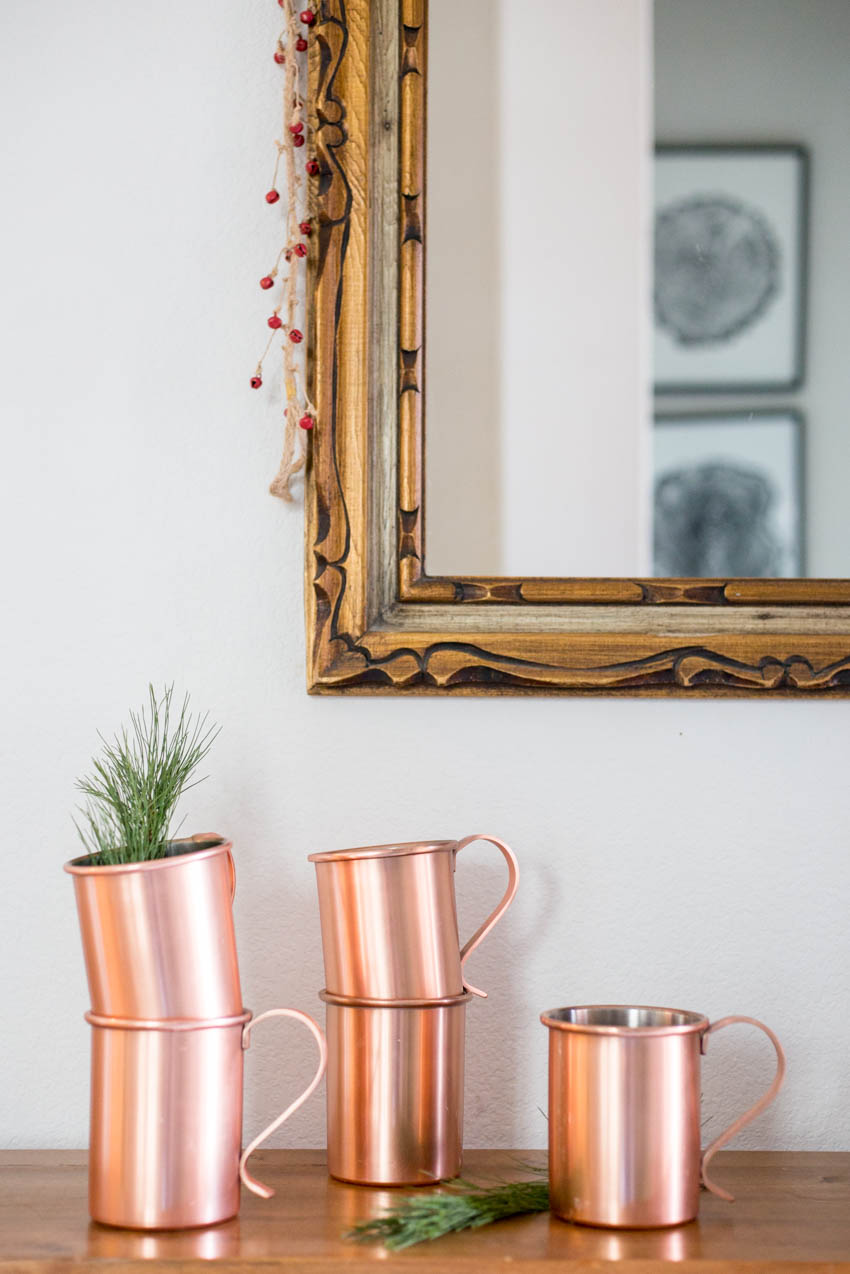 New Uses for Copper Moscow Mule Mugs - One Little Minute