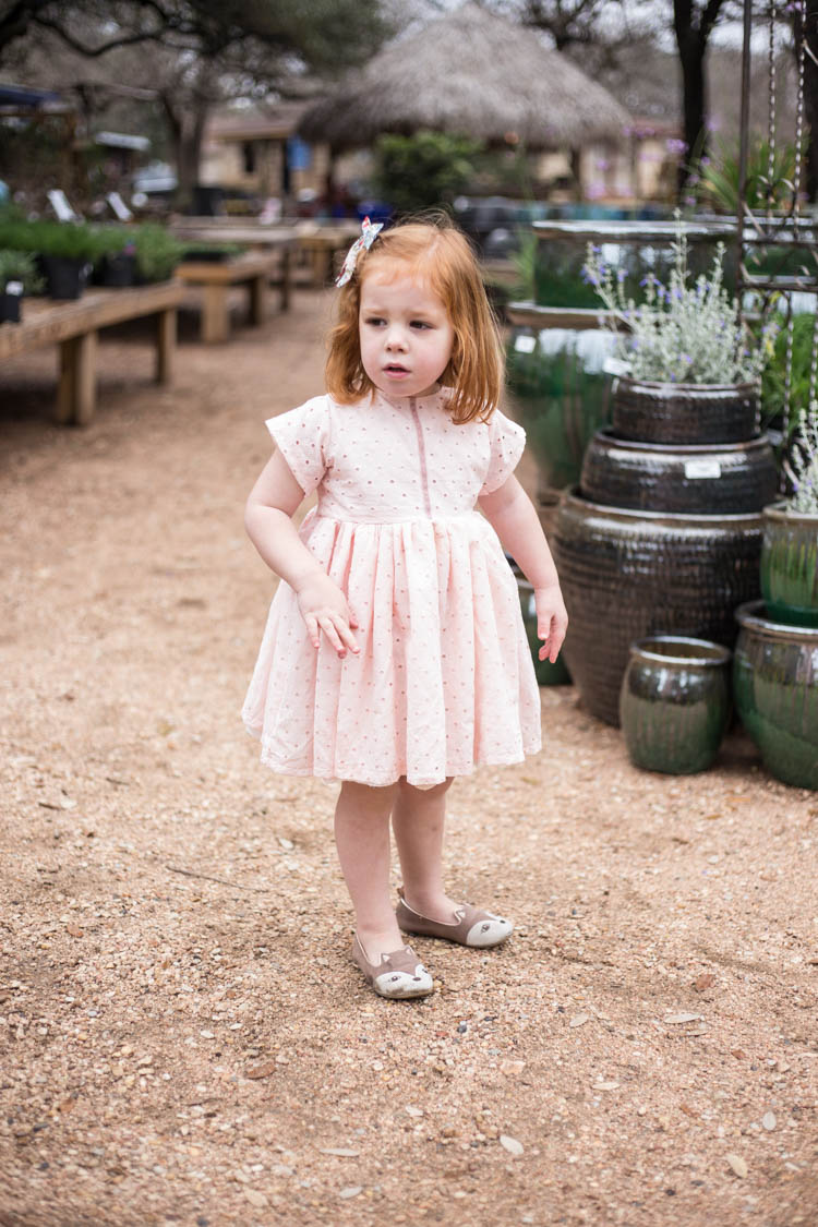 Blush Pink Eyelet Valentine S Day Dress Sewing From The Stash