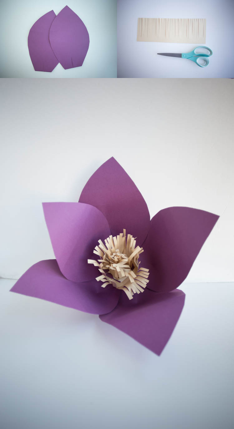 Paper Huge Paper Flowers Diy Live Free Creative Co