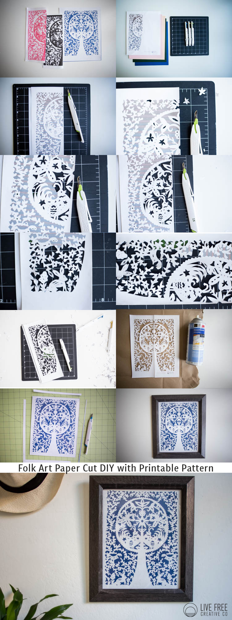 graphic regarding Free Printable Paper Cutting Templates known as People Artwork Paper Lower Do it yourself with Printable Spring Habit - Are living