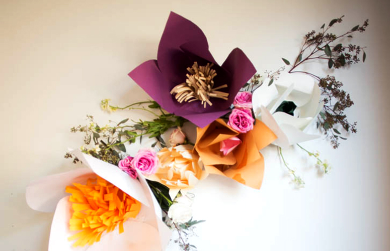Paper huge paper flowers diy live free creative co heres an example of the fringe center flower mightylinksfo