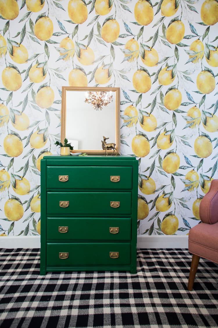 Lemon Wallpaper For Plum S Big Girl Room Live Free Creative Co