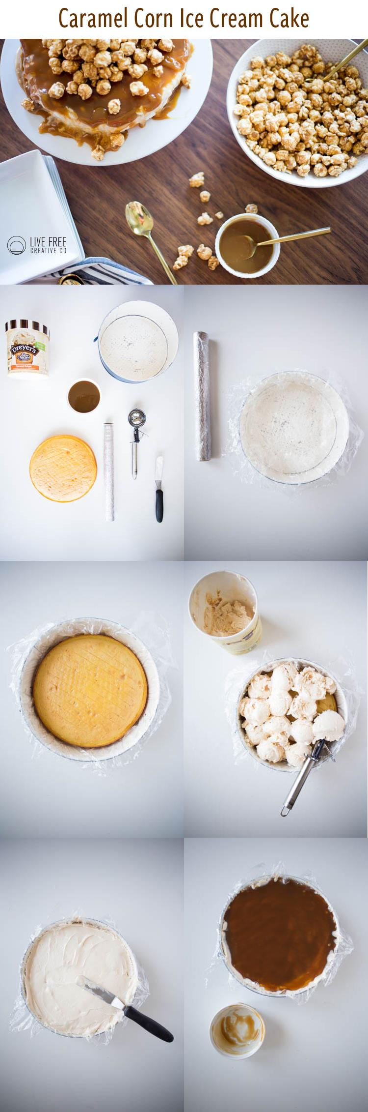 S No Pan Freezer Cake Mix