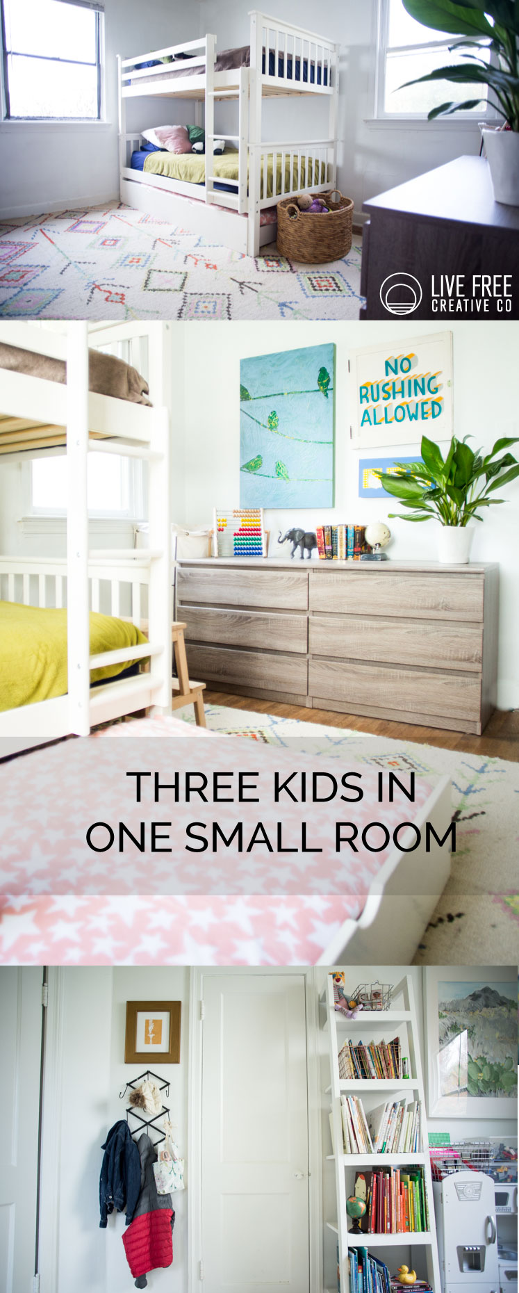 Kids Room Tour | Live Free Creative Co