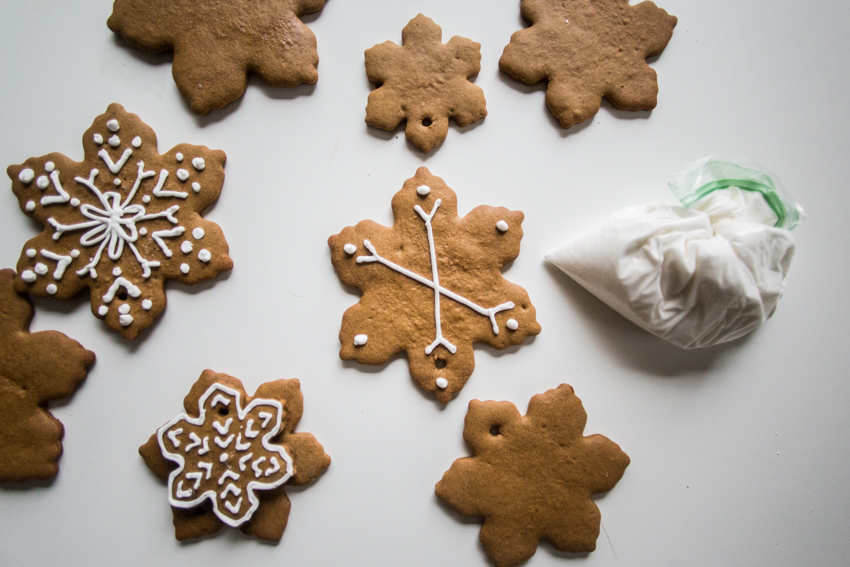 Gingerbread Snowflakes 20 Live Free Creative Co