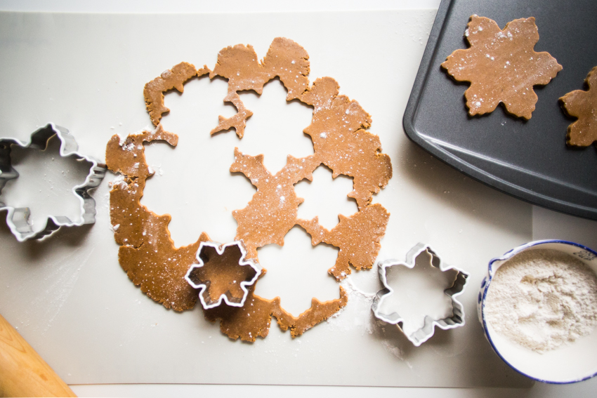 Gingerbread Snowflakes 5 Live Free Creative Co