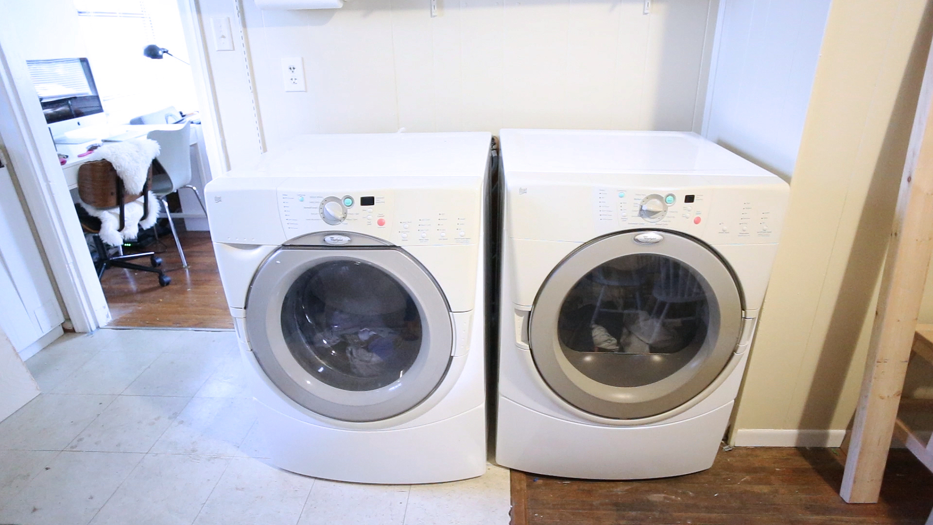 Well known DIY Washer Dryer Surround Countertop - Live Free Creative Co VF69