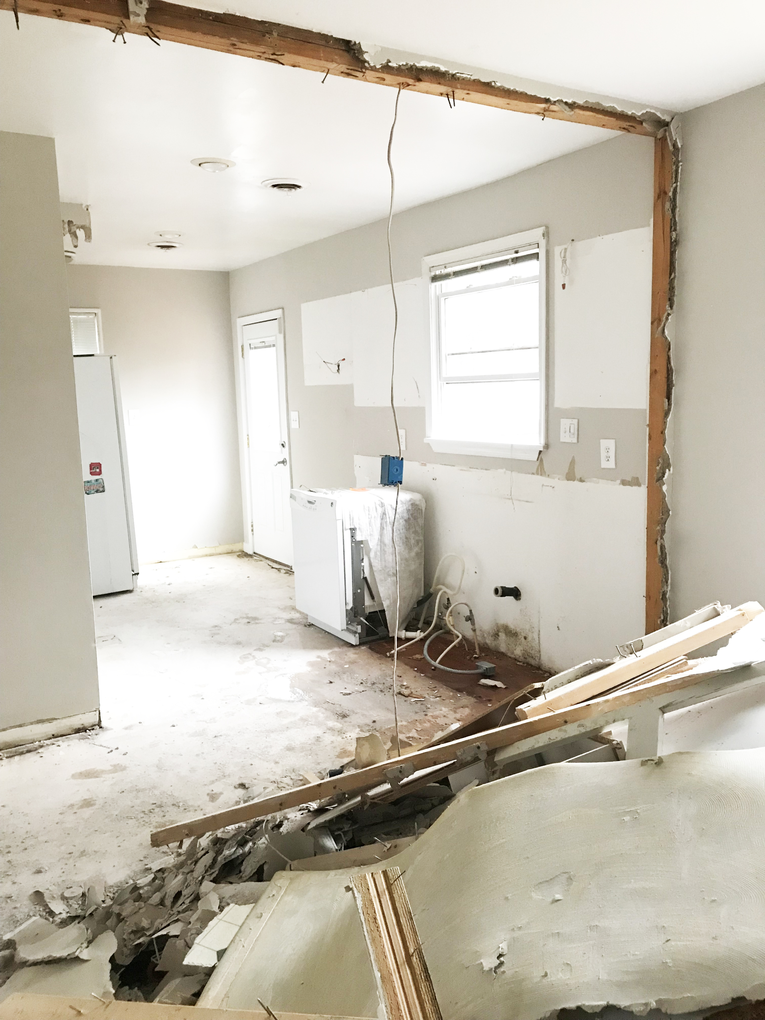 Obviously, It Is Still A Little Rough (to Say The Least!) And We Are So  Looking Forward To All Of The Next Steps In The Process: Finalizing The  Kitchen ...
