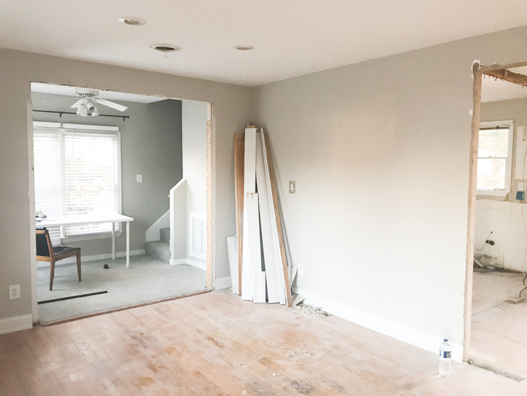 Opening Up A Load Bearing Wall To Let In The Light