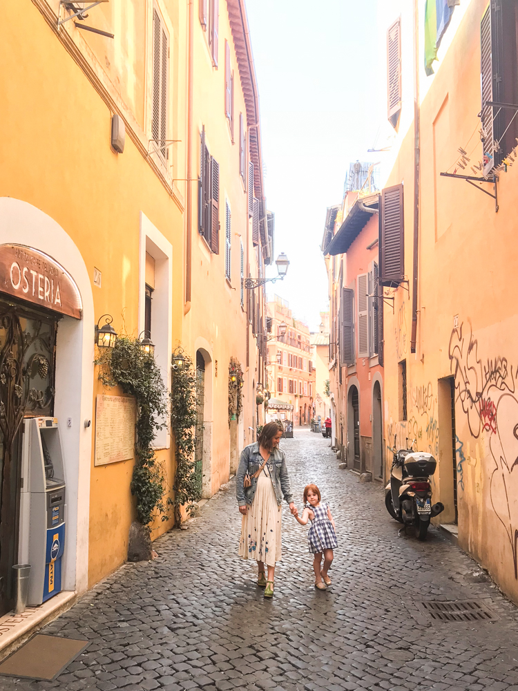 Exploring Rome with Kids