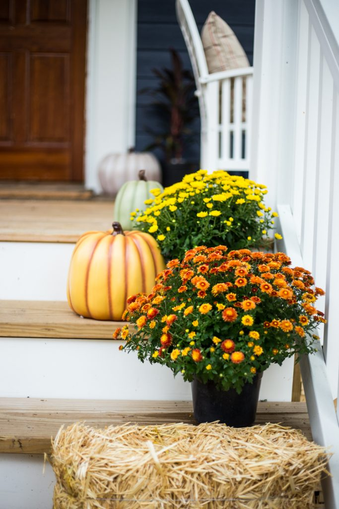 This Time Around, I Focused On Creating A Cozy, Festive, And Still Somewhat  Neutral Space Using Easy Front Porch Fall Decor From The Home Depot.