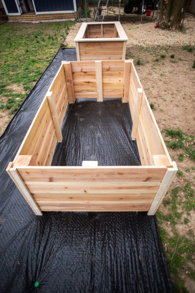 Tall Raised Garden Beds Plans Diy Live Free Creative Co