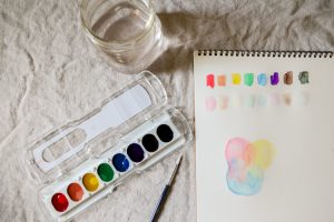 watercolor class for kids